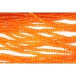 Klaaskristallid, oranz 2x3mm