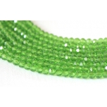 Klaaskristallid, roheline 2x3mm