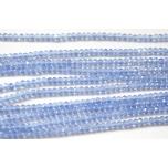 Klaaskristallid, sinine 2x3mm