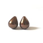 Shell pärl 20x16mm, tilk, 1 tk